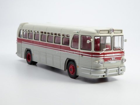 ZIS-127 intercity bus 1955 1:43 Modimio Our Buses #21