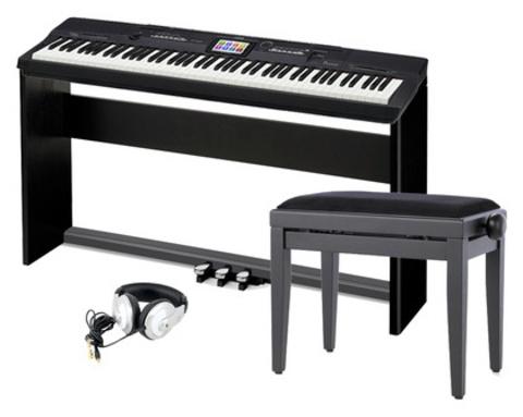 Casio Цифровое пианино PX-360 MBK Privia  (Полная комплектация)