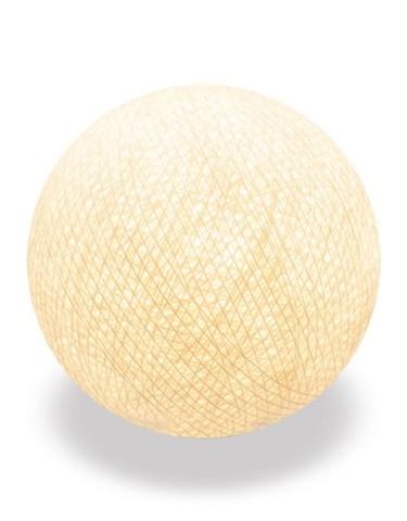 Хлопковый шарик кремовый