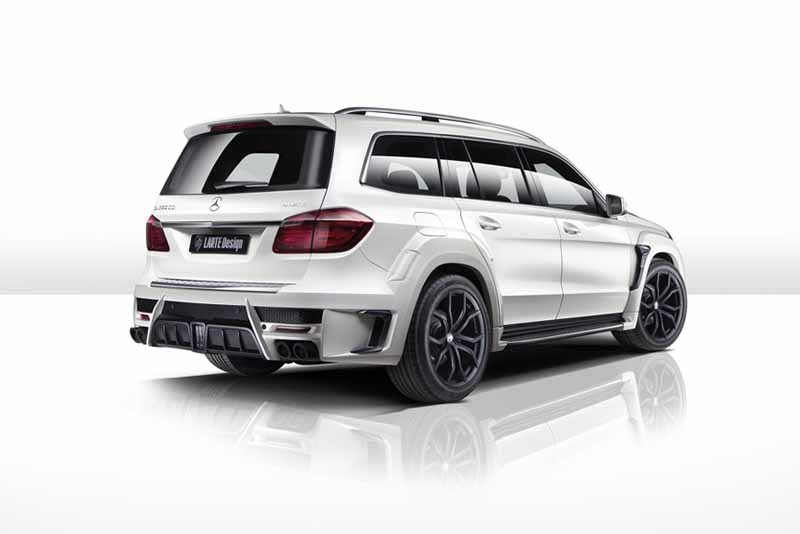 Обвес Larte Design Black Crystal для Mercedes-Benz GL (166)