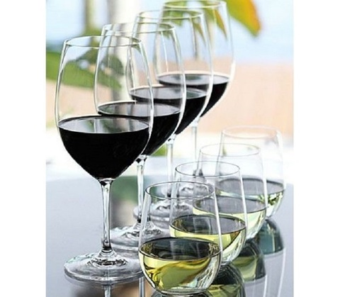 Набор из 8-и бокалов для вина Cabernet Sauvignon/Merlot  610 мл + Viognier/Cnardonnay 320 мл Pay 4 Get 8   артикул 5416/59. Серия Vinum