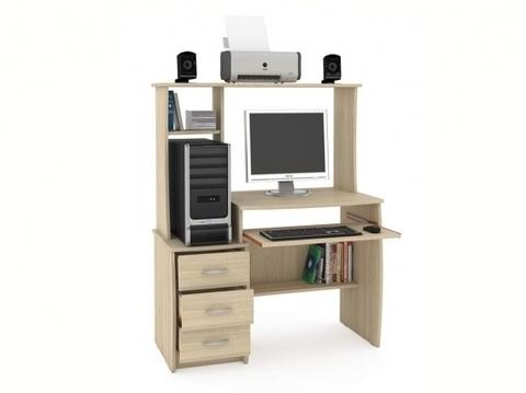 Компьютерный стол Комфорт 5 СКР Моби дуб сонома