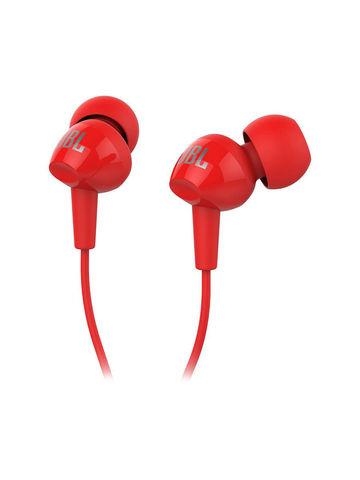 JBL / Наушники с микрофоном C 100 SIU | красные