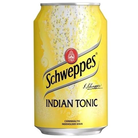 Schweppes Indian tonic Швепс Индийский тоник 0,33 л