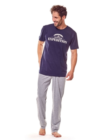 Пижама мужская со штанами RENE VILARD 37050 FIORD