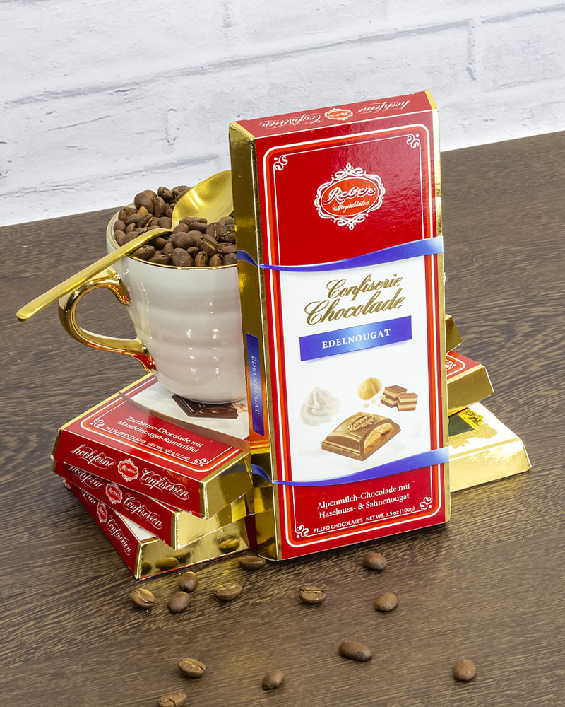 Молочный Шоколад Reber с Ореховым Пралине 100 г