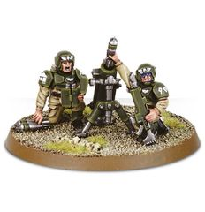Cadian Heavy Weapon Squad. Миномет