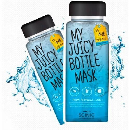 Тканевая маска увлажняющая SCINIC My Juicy Bottle Mask Aqua Ampoule Juice