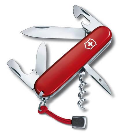 Нож Victorinox Spartan 91 мм. / красный (шт.) со шнурком и индивидуальным номером