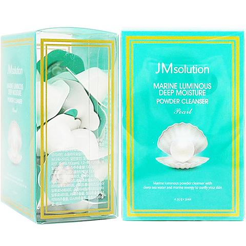 Marine luminous deep moisture powder cleanser pearl