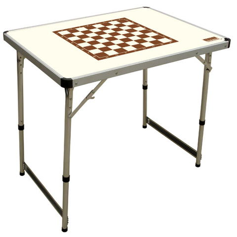 Стол шахматный Camping World Chess Table Ivory