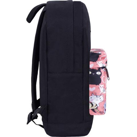Рюкзак Bagland Молодежный W/R 17 л. черный 447 (00533662)