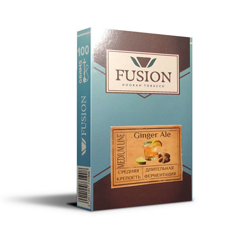Табак Fusion Medium Ginger Ale 100 г