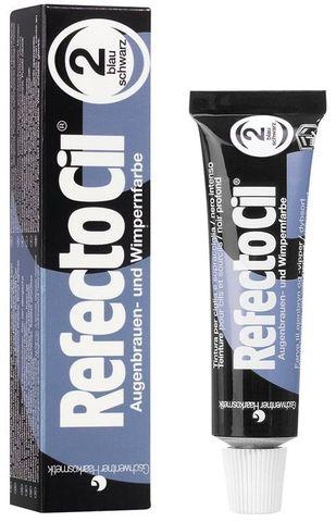 Краска REFECTOCIL для бровей и ресниц №2 (иссиня-черная), 15 мл