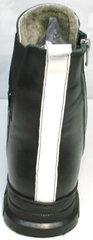 Женская обувь на зиму Ripka 3481 Black-White.