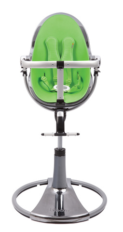 Стульчик Bloom Fresco Chrome Mercury Gala Green