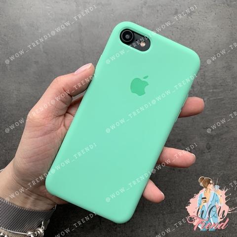 Чехол iPhone SE Silicone Case /spearmint/