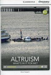 Altruism: What's in it for Me? Bk +Online Access