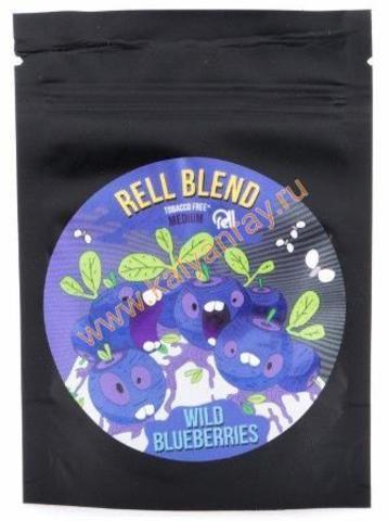 Бестабачная смесь Rell Blend - Дикая Черника