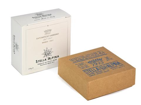 Мыло для бритья Saponificio varesino Stella Alpina Beta 4.2 150 гр