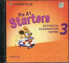 Starters 3 Audio CD (New format)