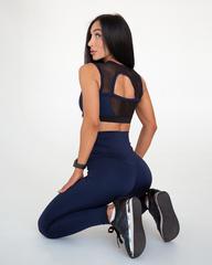 Лосины женские Lion gym CLASSIC BASIC DARK BLUE