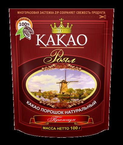 Какао порошок 'Роял' натуральный, 100г