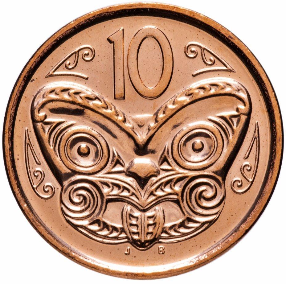 10 центов. Новая Зеландия. 2012 год. UNC