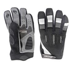 Велоперчатки JAFFSON MBG 49-0015 (чёрный/серый)