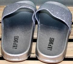 Летние сланцы женские J.B.P. Shoes Nu1213 Silver.