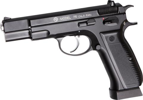 Пистолет пневматический ASG CZ 75 цельнометаллический, BLOWBACK (артикул 17619)