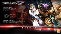 TEKKEN 7 - Season Pass (для ПК, цифровой ключ)