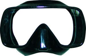 Маска для плавания Akvilon TEKNO DUO, для взрослых, обт. Силиконовая резина
