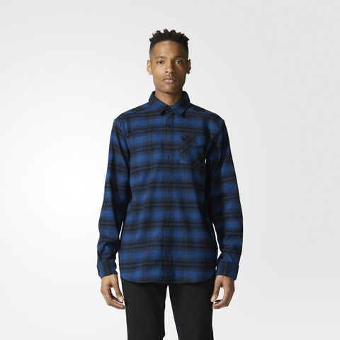 Рубашка мужская adidas ORIGINALS STRETCH FLANNEL