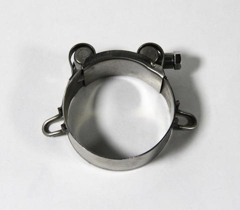 Зажим для глушителя 52-55 мм с ушками