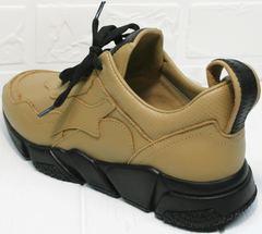 Кожаные кроссы женские Poletto 2408 DB