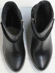Ботильоны на толстом каблуке Lady West 1343 101 Black