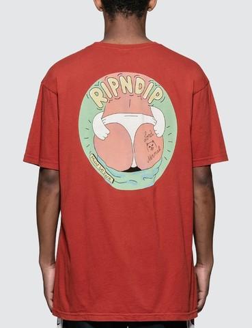 Футболка Rip N Dip Dumpy Tee Red Mineral Wash