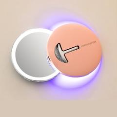 Зеркало косметическое настольное Xiaomi Jordan & Judy LED Makeup Mirror (NV030) с подсветкой pink
