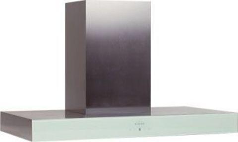 Вытяжка каминная Elikor Агат 60Н-1000-Е4Д нержавеющая сталь/белый управление: сенсорное (1 мотор)