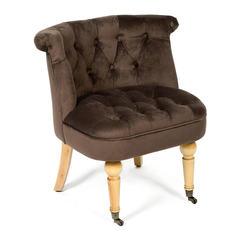 Кресло Secret De Maison Bunny (mod. C102) дерево береза, ткань: вельвет, коричневый