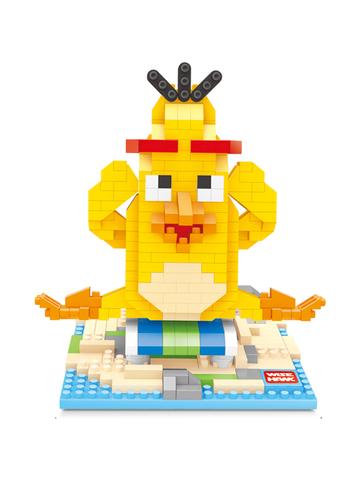 Конструктор Wisehawk Чак Желтый Злобные птички 495 деталей NO. 2426 Chuck Angry Birds Series Nano Block
