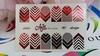 Фольга для дизайна ногтей цвет красный 40 купить за 120руб