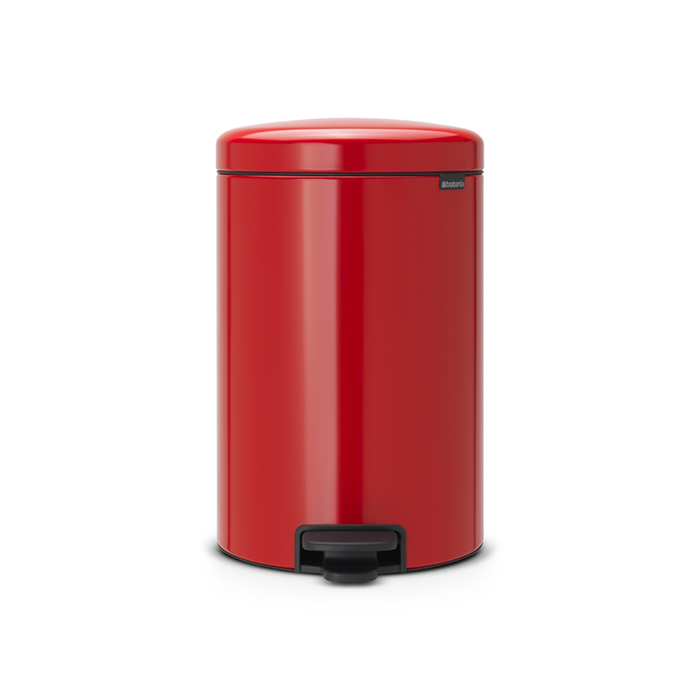 Мусорный бак newIcon (20 л), Пламенно-красный, арт. 111860 - фото 1