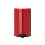 Мусорный бак newIcon (20 л), Пламенно-красный, артикул 111860