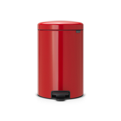 Мусорный бак newIcon (20 л), Пламенно-красный