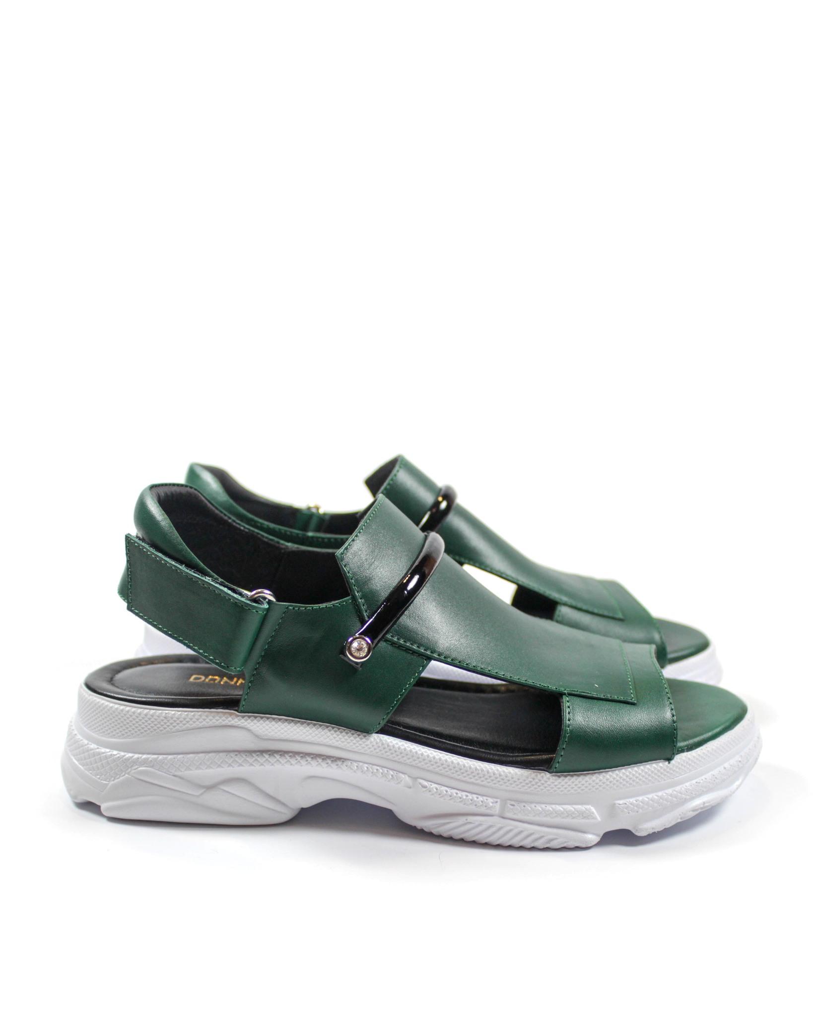 зеленые сандалии Donna Ricco