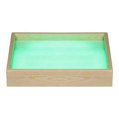 Стол для рисования песком с цветной подсветкой (зеленый)