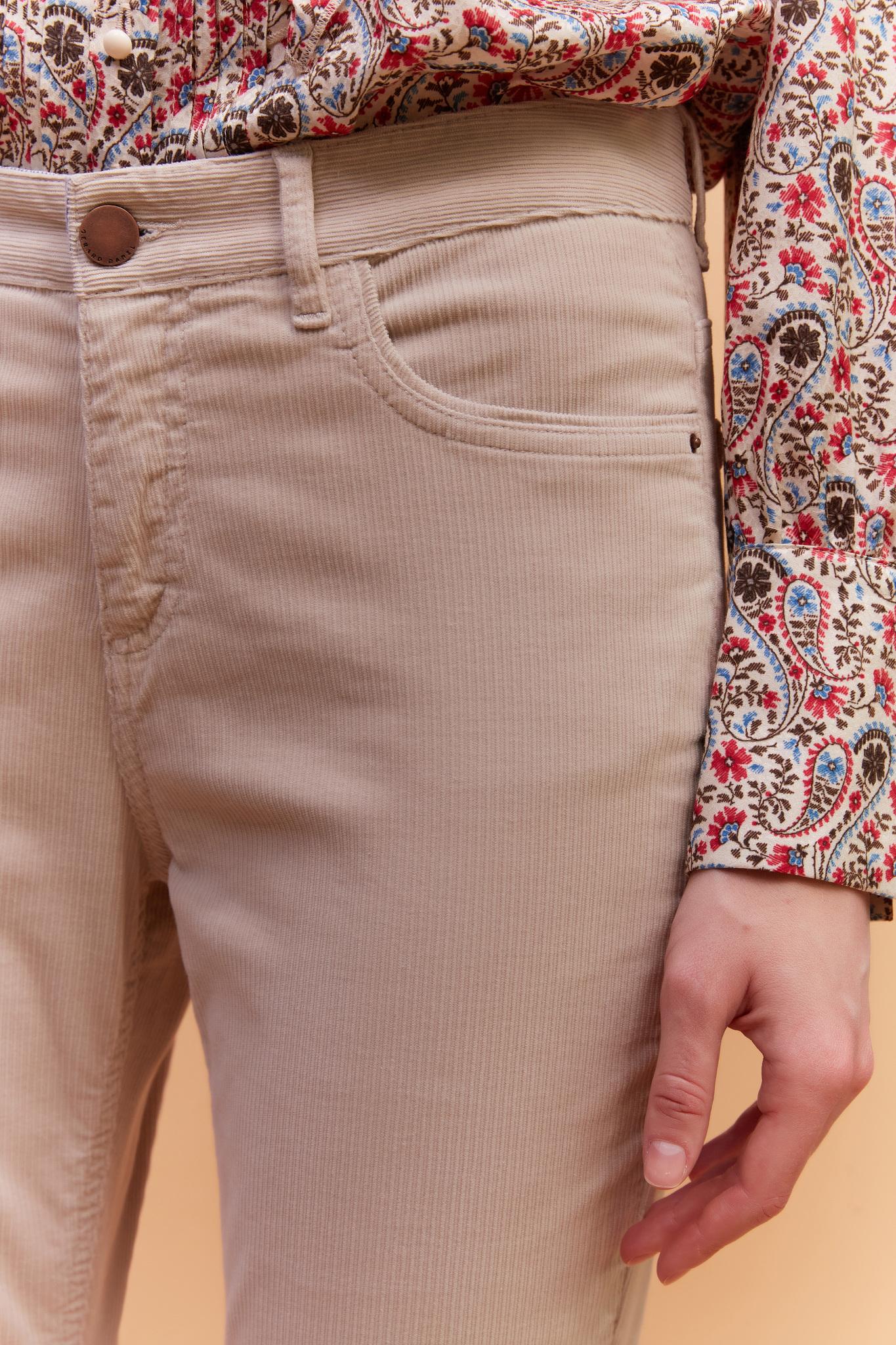 EMILY - Вельветовые брюки