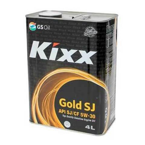 L531744TE1  Kixx SJ/CF 5W-30 полусинтетическое моторное масло (4  литра) официальный сайт партнера ht-oil.ru